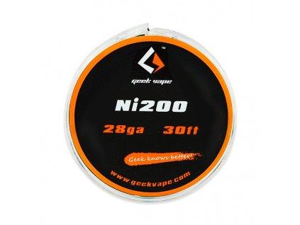 Ni200 - odporový drát 0,3mm 28GA (10m) - GeekVape