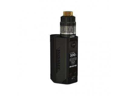Elektronický grip: Wismec Reuleaux RX GEN3 Kit s Gnome 2ml (Černý)