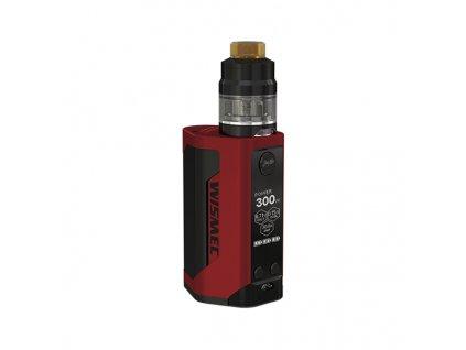 Elektronický grip: Wismec Reuleaux RX GEN3 Kit s Gnome 2ml (Červený)