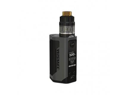 Elektronický grip: Wismec Reuleaux RX GEN3 Kit s Gnome 2ml (Šedý)