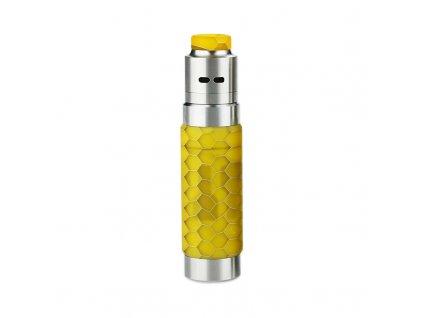 Mechanický grip: WISMEC Reuleaux RX Machina Kit s Guillotine RDA (Honeycomb Resin)