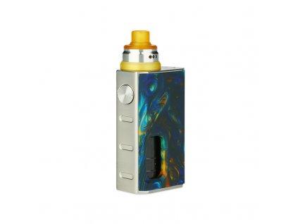 Mechanický grip: WISMEC Luxotic BF Box Kit s Tobhino (Swirled Metallic Resin)