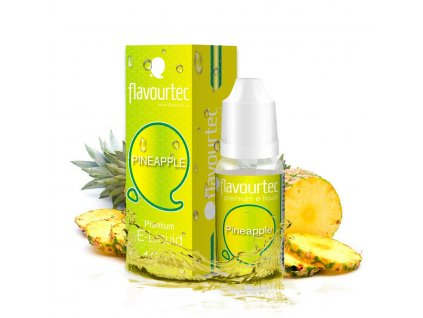 E-liquid Flavourtec 10ml / 0mg: Ananas (Pineapple)