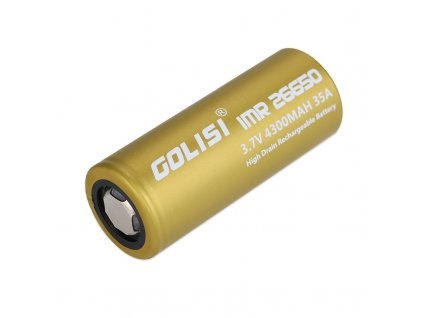 Baterie Golisi S43 IMR 26650 - 35A (4300mAh)