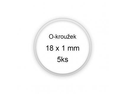 Sada O-kroužků / těsnění 18x1 mm (5ks)