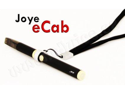 Šňůrka na krk pro elektronickou cigaretu eCab (Černá)