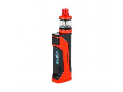 Elektronický grip: WISMEC CB-80 Kit s AMOR NS Pro (Červený)