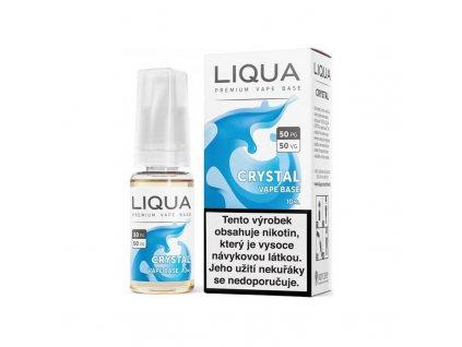 Nikotinová báze LIQUA Crystal (50/50): 10ml / 18mg