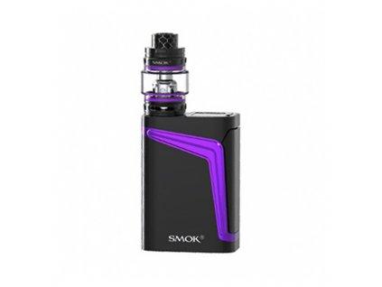 Elektronický grip: SMOK V-FIN Kit s Big Baby Prince (8000mAh) (Black Purple)