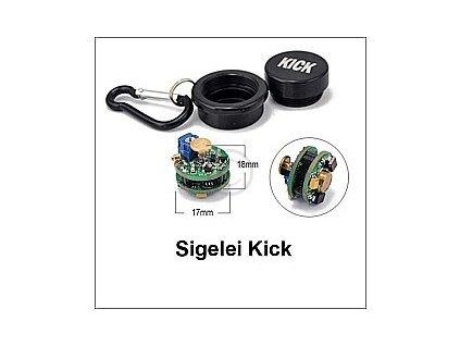 Sigelei-K (Kick) + alu pouzdro černé