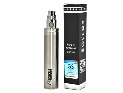 eGo baterie 2200mAh stříbrná s krabičkou