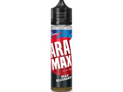 Příchuť Aramax Shake and Vape 12ml Max Blueberry