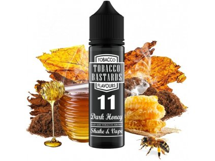 prichut flavormonks tobacco bastards shake and vape 12ml no11 dark honey