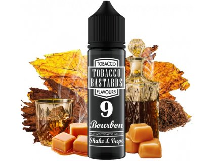 prichut flavormonks tobacco bastards shake and vape 12ml no09 bourbon