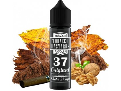 prichut flavormonks tobacco bastards shake and vape 12ml no37 original