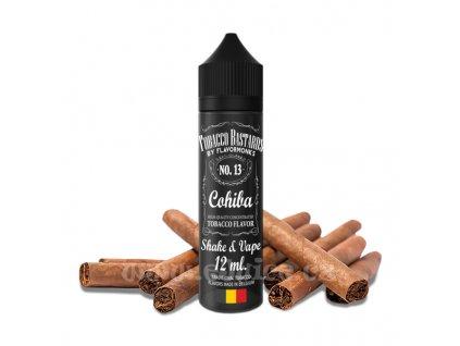 Příchuť Tobacco Bastards Shake & Vape: No. 13 Cohiba (Doutníkový tabák) 12ml