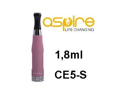 aSpire CE5-S BVC Clearomizer 1,8ohm 1,8ml Pink