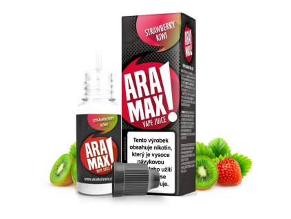 Liquid ARAMAX 10ml / 12mg: Jahoda a kiwi (Strawberry Kiwi)