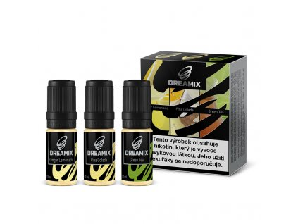 Dreamix 3x10ml - Zázvorová limonáda, Pina Colada, Zelený čaj