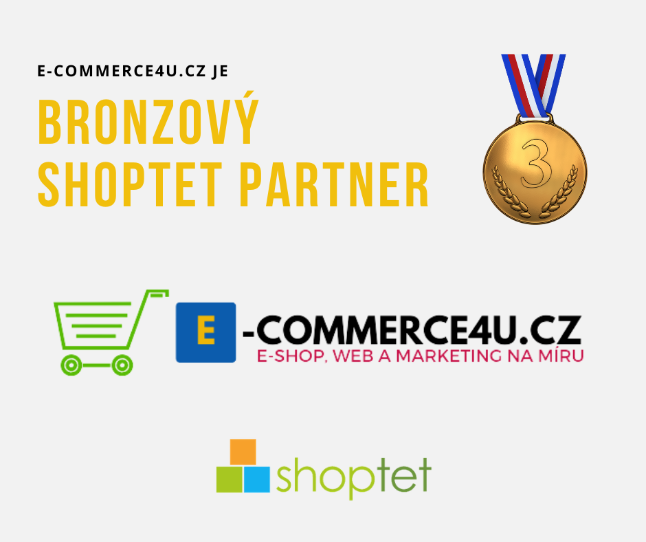 Jsme bronzový Shoptet partner