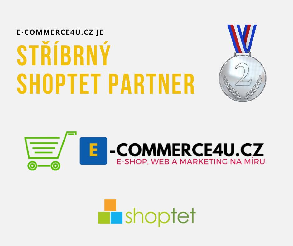 Jsme stříbrný Shoptet partner