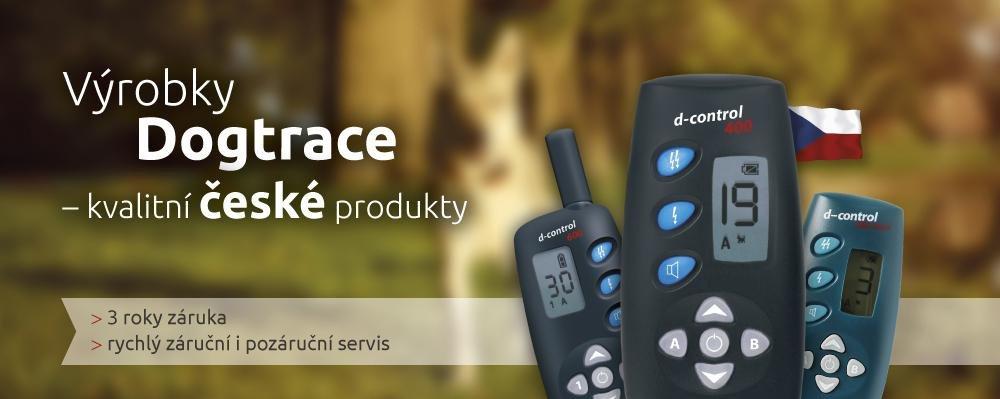 Výrobky DOGtrace - kvalitní české produkty