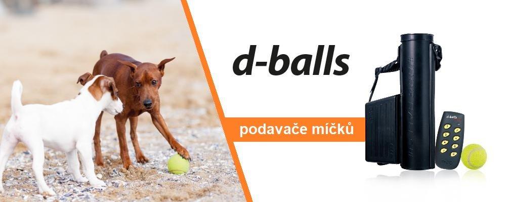 D-balls výcvikové podavače míčků