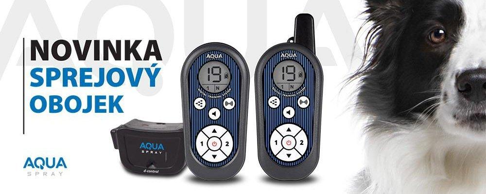 D-control Aqua spray výcvikové obojky
