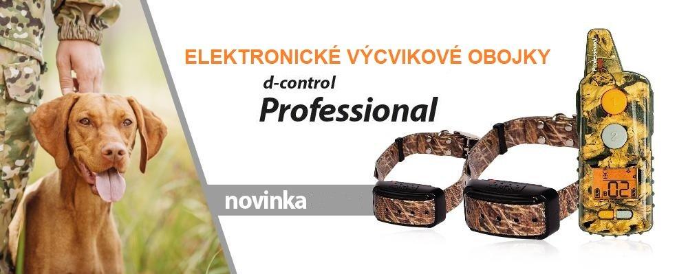D-control professional výcvikové obojky