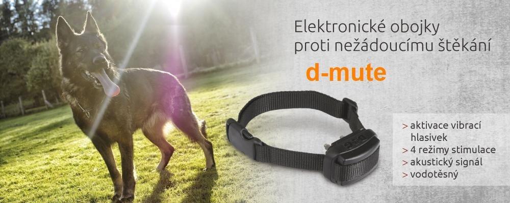 D-mute elektronické obojky proti štěkání