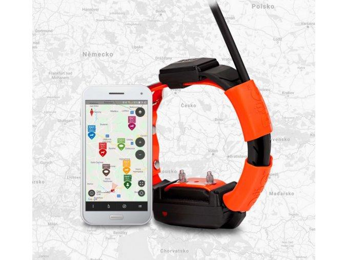 Obojek pro dalšího psa DOG GPS X30T  + ZDARMA náhradní baterie v hodnotě 349,- + 3 roky záruka