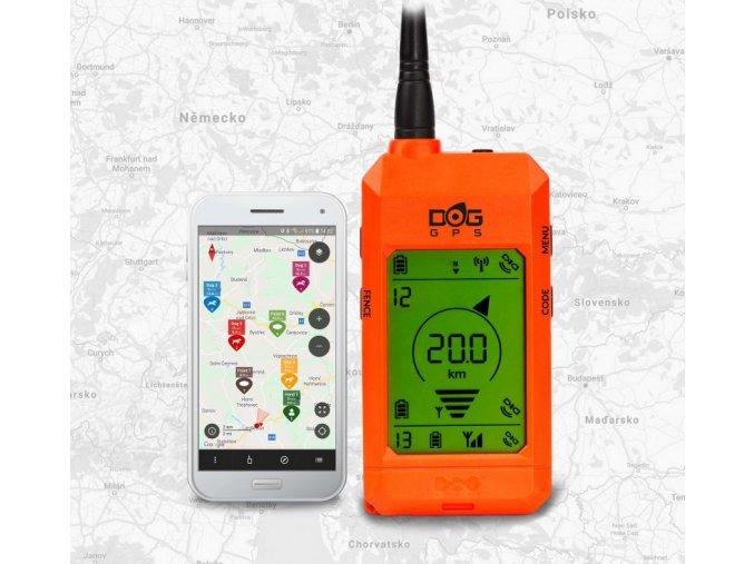 Přijímač - ruční zařízení pro DOG GPS X30/X30T  + ZDARMA náhradní baterie v hodnotě 349,-