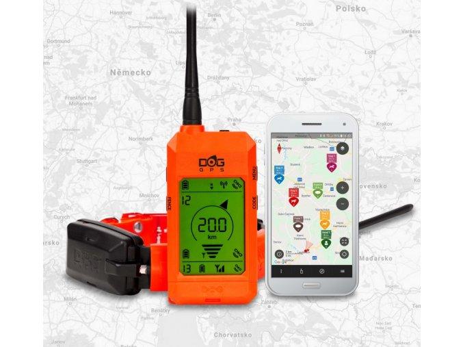Vyhledávací zařízení DOG GPS X30 - bez výcvikového modulu  + ZDARMA náhradní baterie v hodnotě 349,- + 5% sleva při nákupu nad 10.000,-