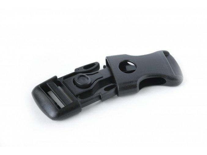 Spona bezpečnostní s tlačítkem 25 mm