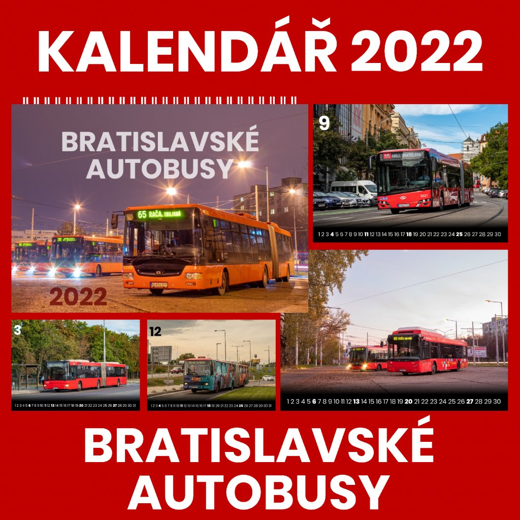 kalenar blava bus