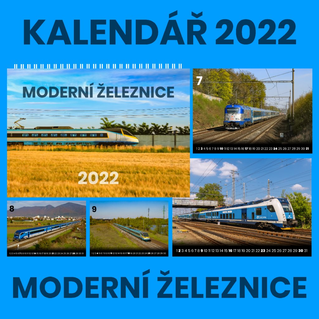 kalenar moderni zeleznice