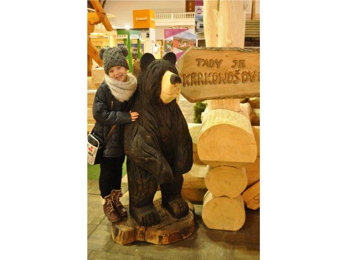 Zahradní socha, Medvěd 120 cm