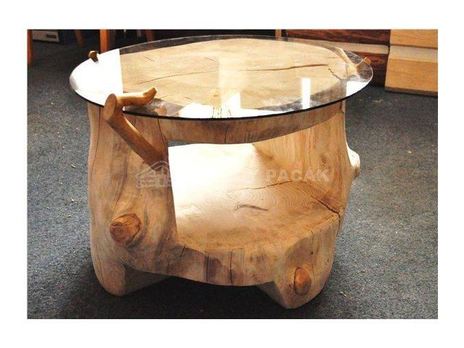 Konferenční stolek - špalek