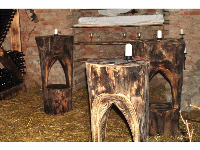 Barový stůl - špalek