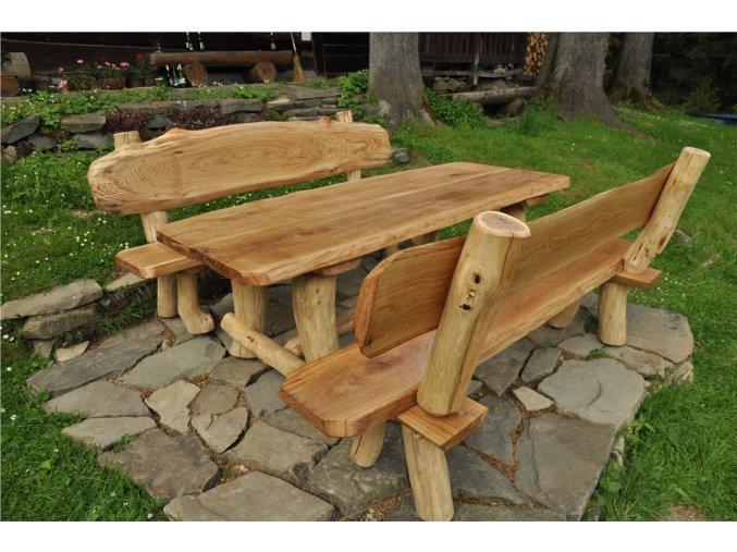 Zahradní nábytek Radegast - materiál dub