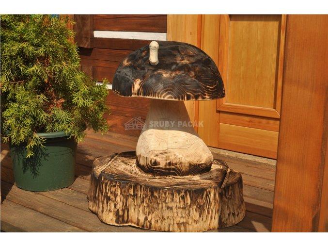 Dřevěná socha, Hříbek