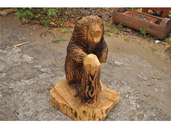 Dřevěná socha, Bobr