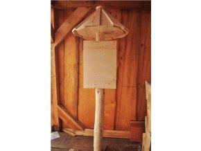 Dřevěná cedule, Informační tabule