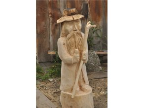 Dřevěná socha, Krakonoš