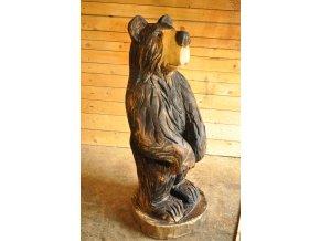 Dřevěná socha, Medvěd 100 cm