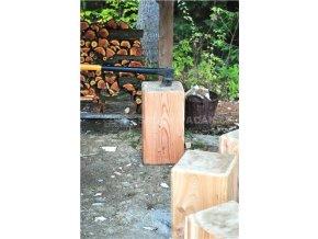 Špalek na štípání dřeva, hranol