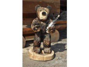 Zahradní sochy, Vítací medvěd