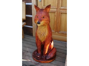 Socha ze dřeva, Liška