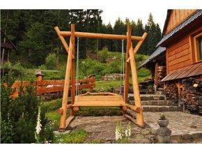 Dřevěná houpačka Komfort
