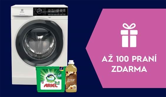 Až 100 praní zdarma ke spotřebičům PerfectCare
